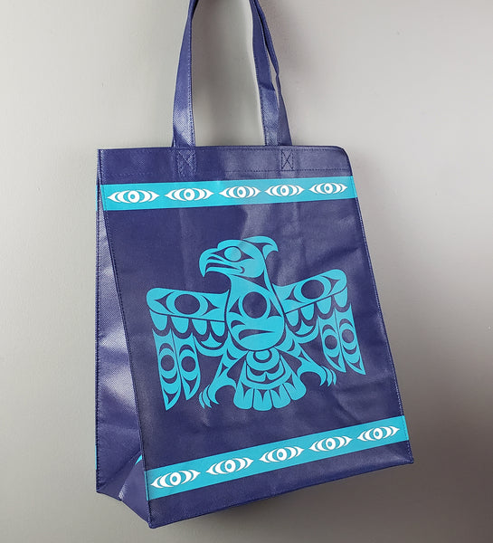 Large Eco-Bag (Connecting With Our Ancestors) - Thunderbird
