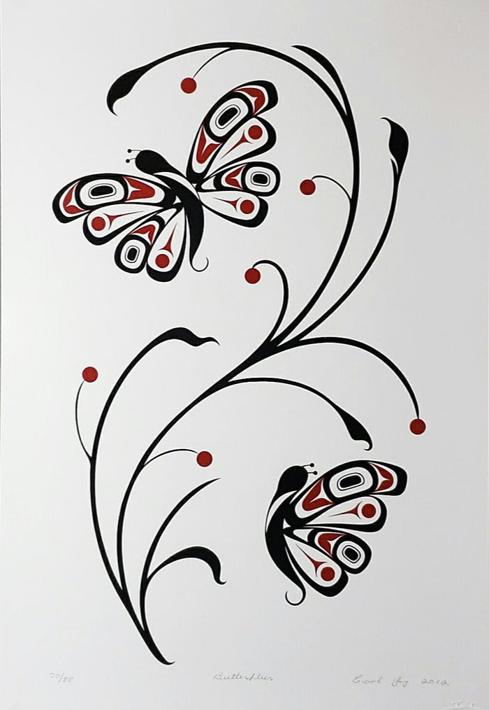 Butterflies, Limited Edition Print