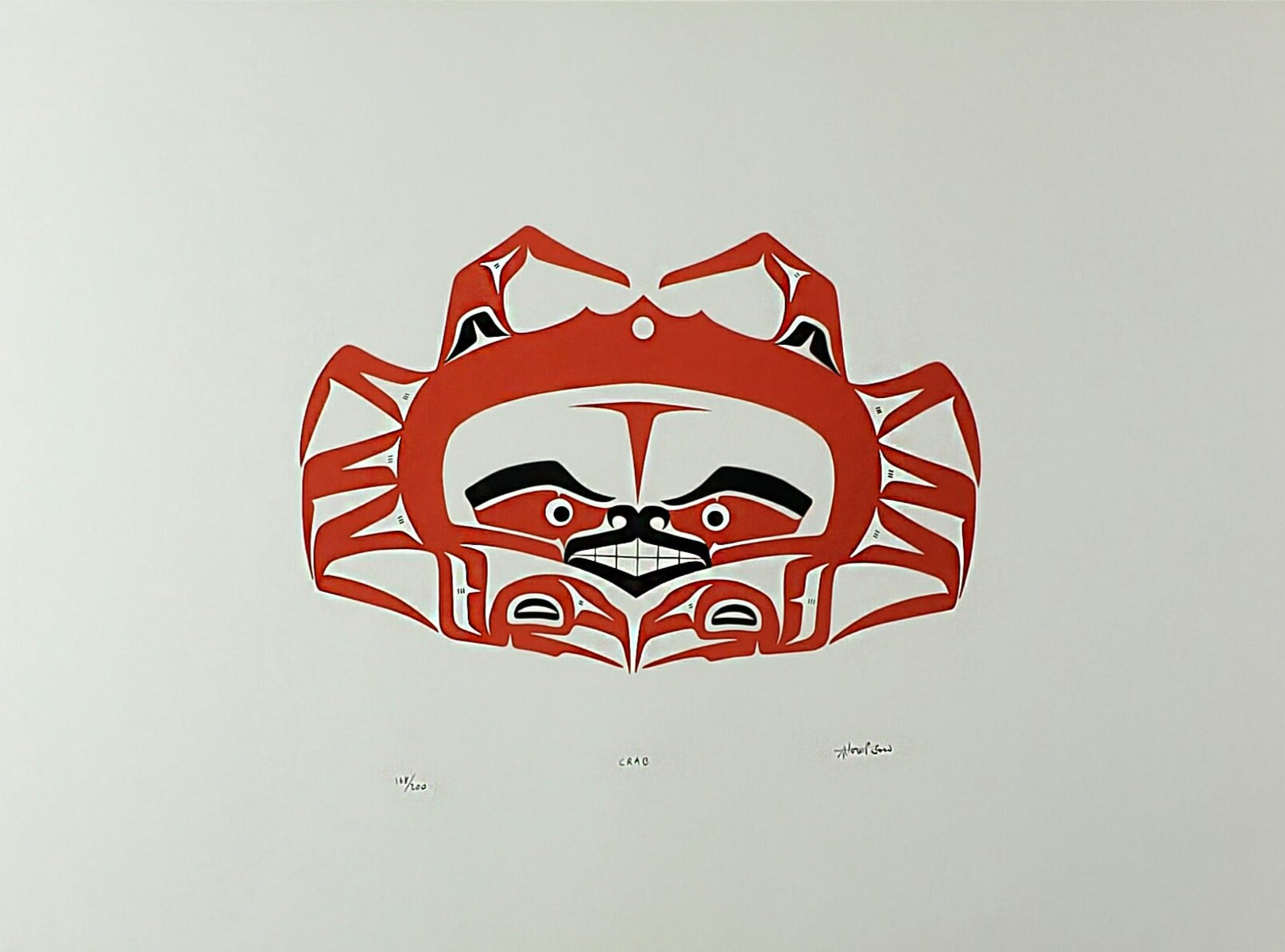 Crab - Art Thompson (Nuu-chah-nulth)