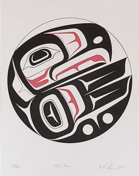 Eagle Drum, Limited Edition Print