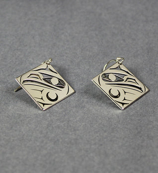 Eagle - Sterling Silver Earrings