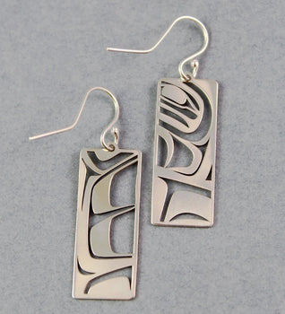 Abstract Formline Earrings