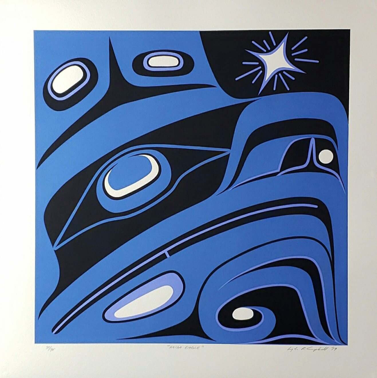 Four Clans - Haida Eagle, Limited Edition Print