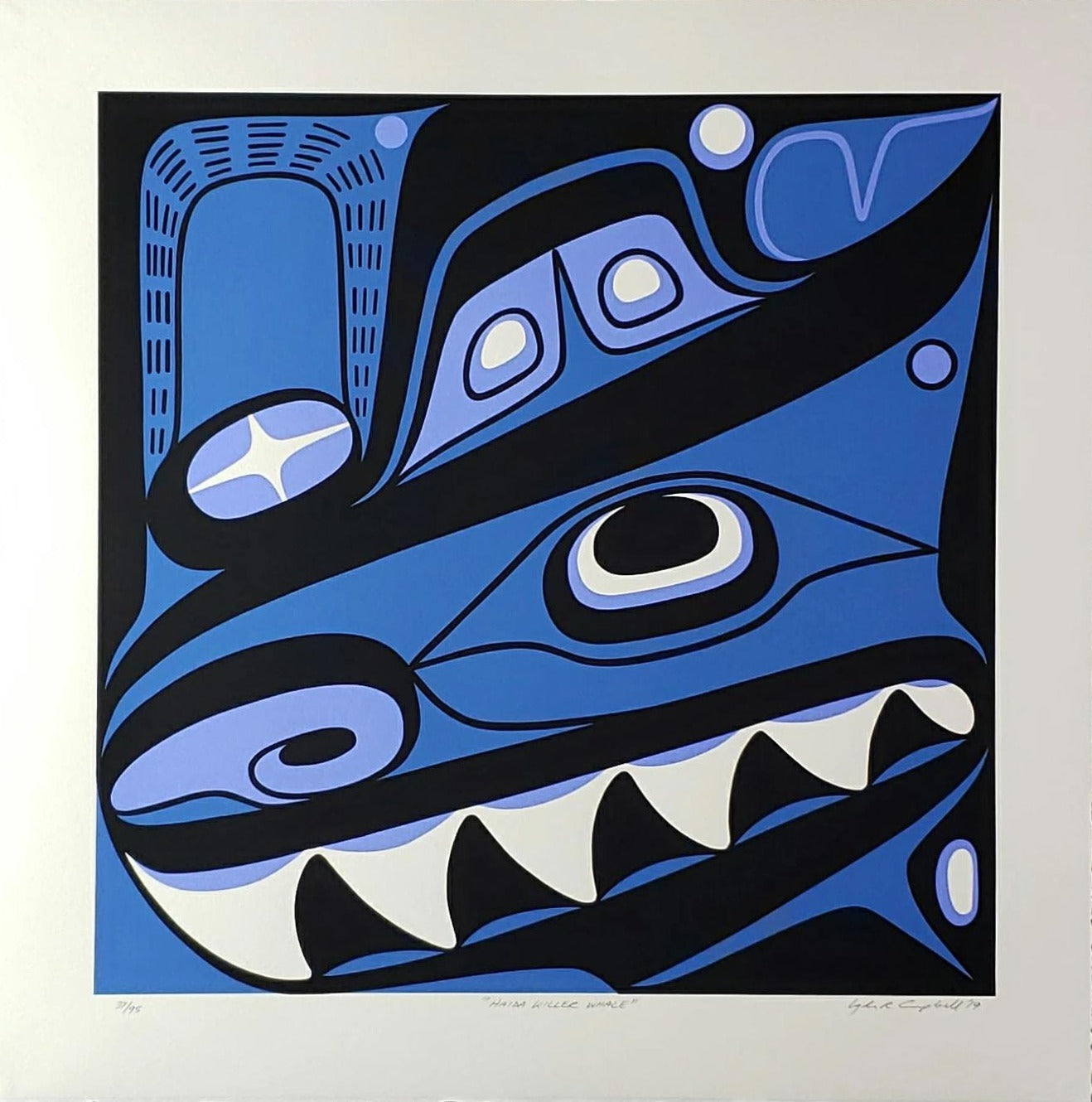 Four Clans Killer Whale, Limited Edition Print