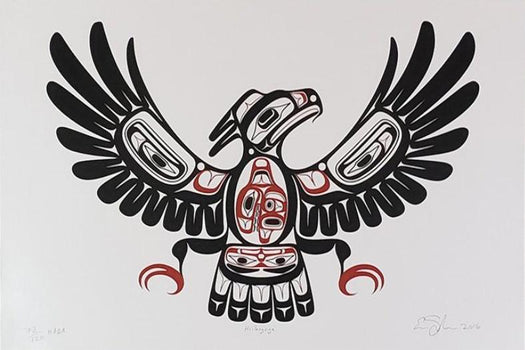 Hiilang'nga (Thunderbird with Killer Whale in Belly)