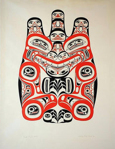 Haida Grizzly - Huaji (Xhuwaji), Limited Edition Print