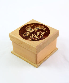 Hummingbird, Red Cedar Bentwood Box
