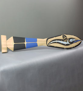Red Cedar - Hummingbird Paddle - Ross Henderson - Kwakwaka'wakw