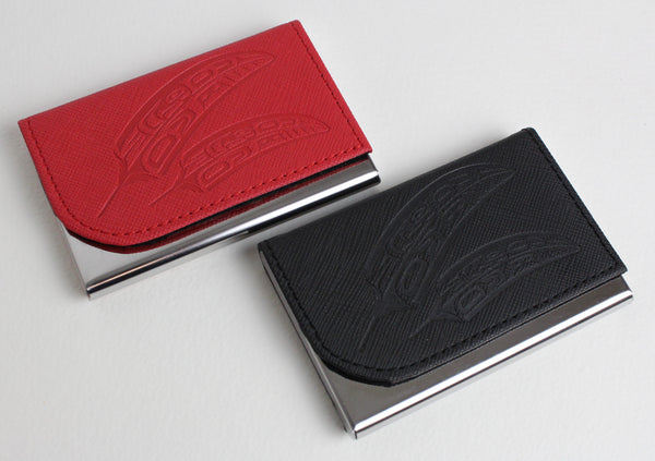 Feather, Business Card Holder
