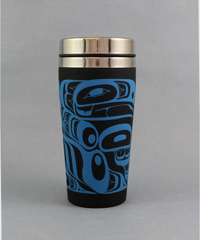 Four Clans, 16oz Matte Travel Mug