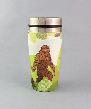 Sasquatch, 16oz Bamboo Fibre Travel Mug