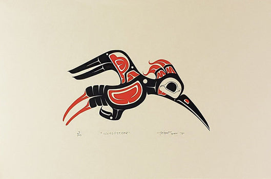 Woodpecker, Limited Edition Print