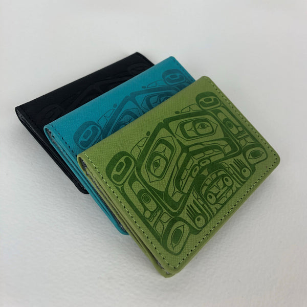 Raven Box, Vegan Card Wallet