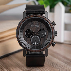 BOBO BIRD Chronograph Men Watch