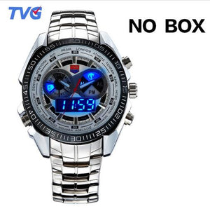 TVG Men's LED Pointer Watch 30AM Waterproof
