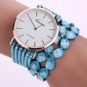 Women Bracelet Crystal Watch