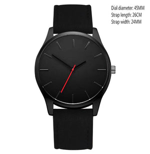 Men Leather Sport Watch