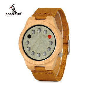 BOBO BIRD Handmade Bamboo Watch for Men