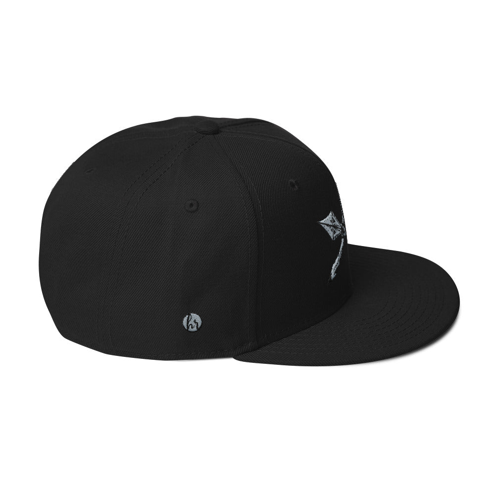 KOA club right side of hat black
