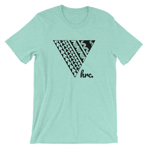 HRC front of t-shirt heather mint