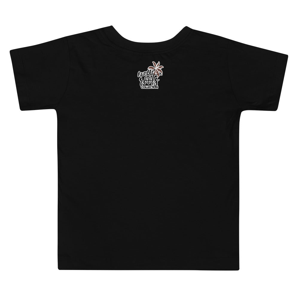 Stay Grounded Toddler Short Sleeve Tee (Black)