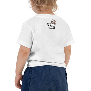 Stay Grounded Toddler Girl Short Sleeve Tee
