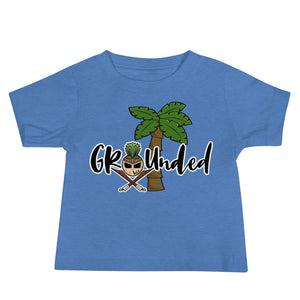 Stay Grounded Baby Boy Jersey Short Sleeve Tee