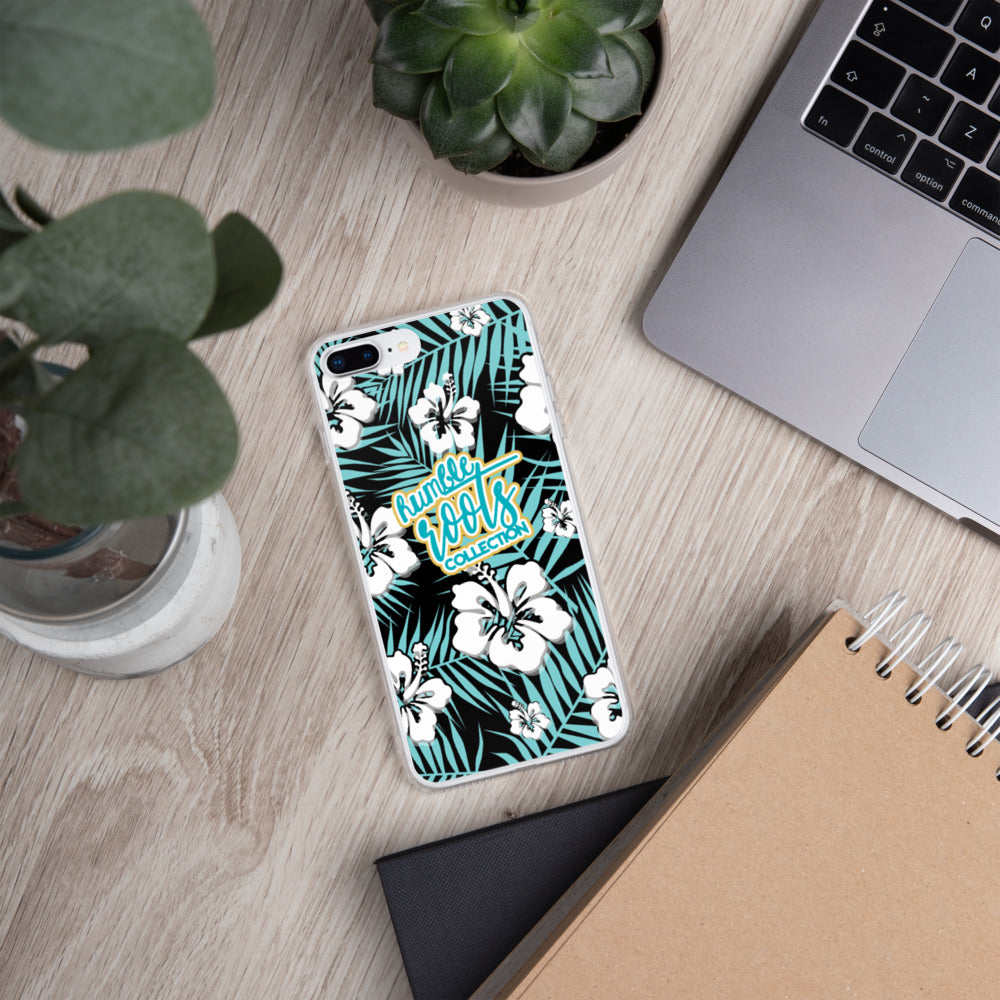 Tropical Hibiscus iPhone Case