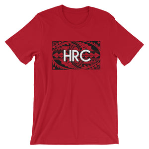 HRC front of t-shirt red