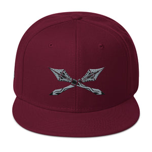 KOA club front of hat burgundy maroon