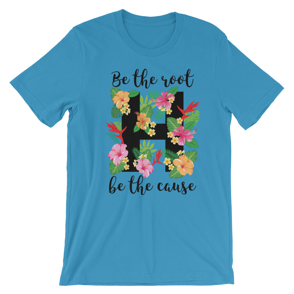 Humble garden t-shirt ocean blue