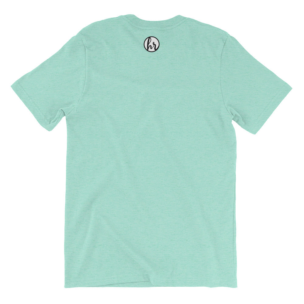HRC back of t-shirt heather mint