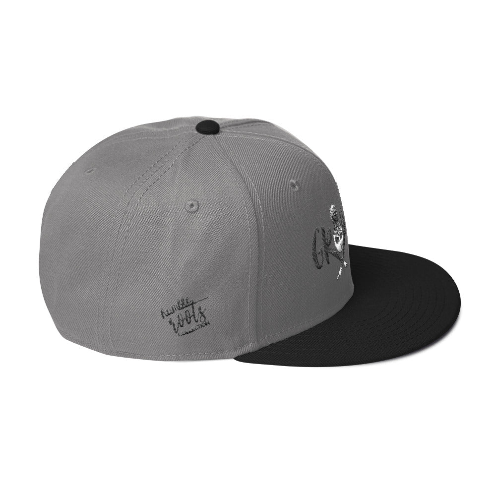 Stay Grounded Snapback Hat