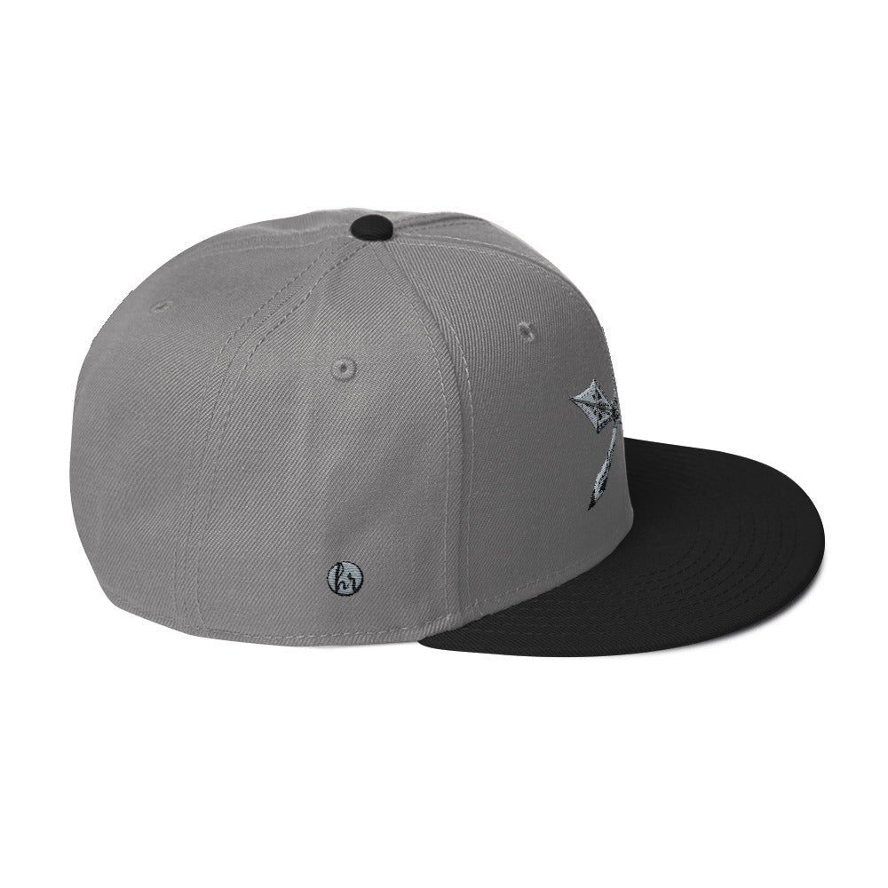 KOA club right side of hat black/grey
