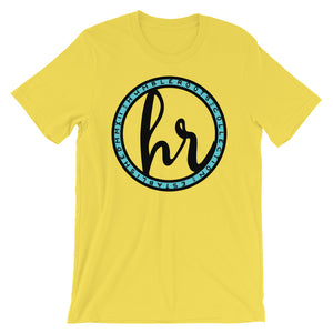 HRC logo front of t-shirt yellow