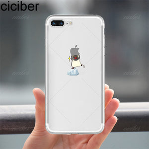 promo code 90a49 c546a ciciber Cute Animals Soft Silicone Phone Cases Cover for Iphone 6 6S 7 8  plus X 5S SE