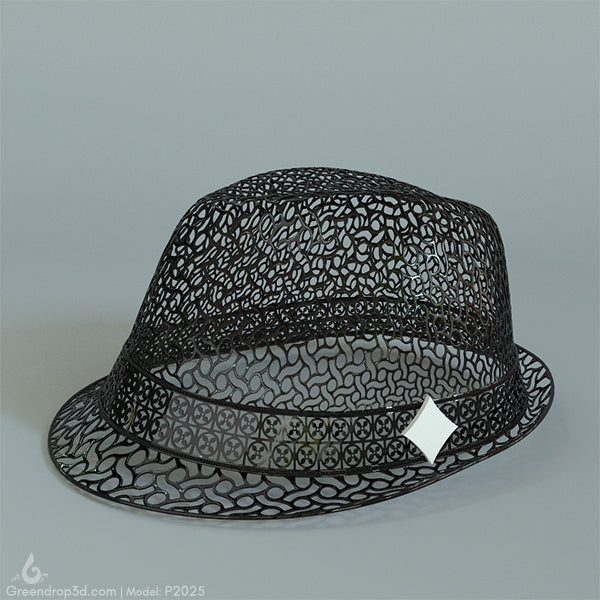 P2025 - Diamond Hat - greendrop3d