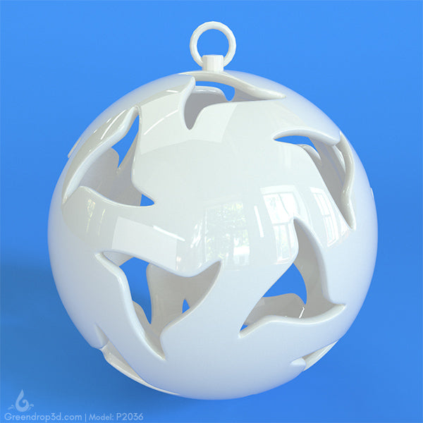Christmas Baubles I - greendrop3d