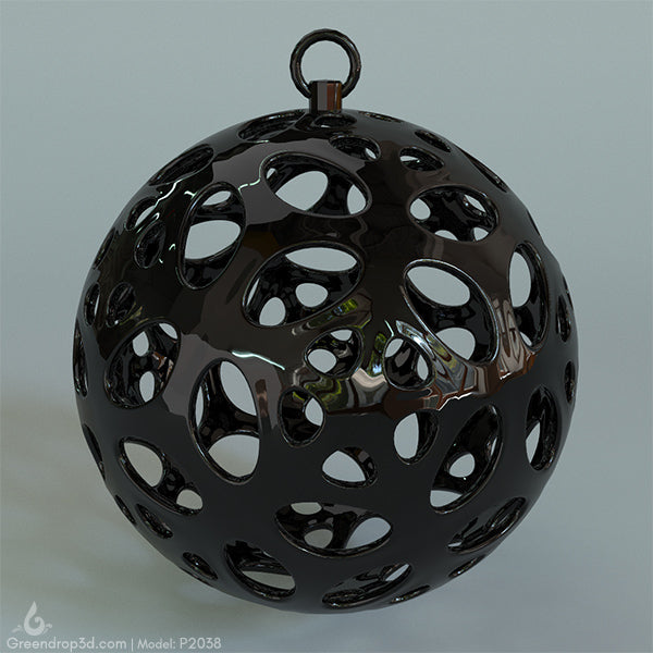 Christmas Baubles III - greendrop3d