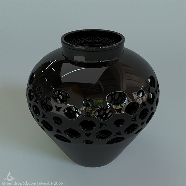 P2059 - Chinese Pot - greendrop3d