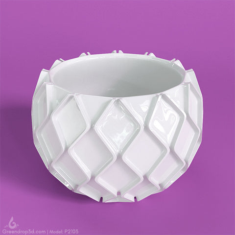 Mini Vase K - greendrop3d