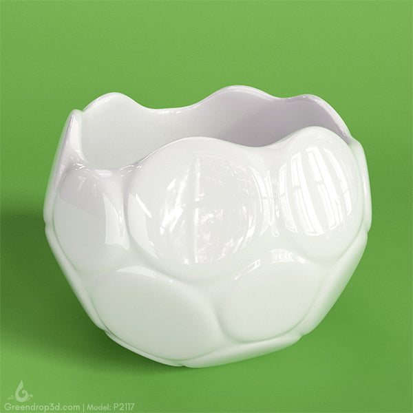 P2117 - Mini Vase R - greendrop3d