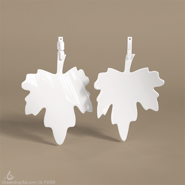 Leaf Earring - Greendrop 3D ltd
