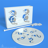 P2075 - Dragon Coasters - greendrop3d