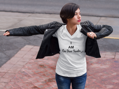 I AM One Brave Traveler - WOMEN