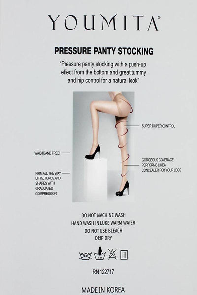 Ladies fashion pressure panty stockings