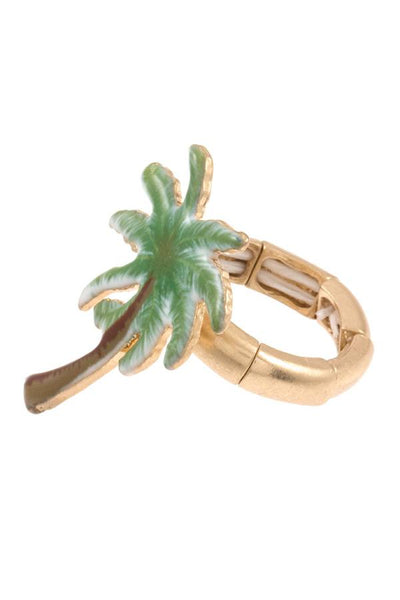 Palm tree stretch ring