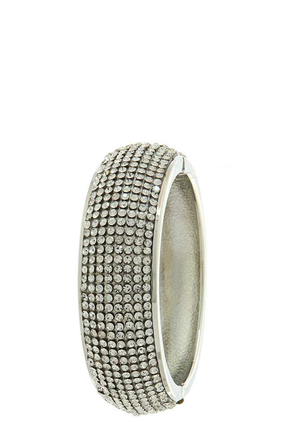 Multi rhinestone chic bangle