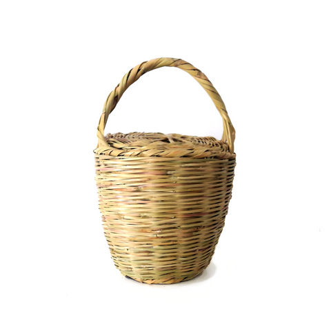 BIRKIN BASKET - Jane Birkin Basket - handmade wicker basket -  LARGE SIZE