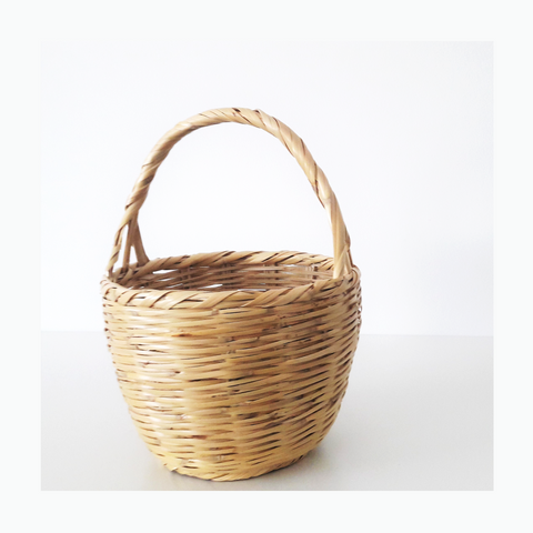 BIRKIN BASKET - Jane Birkin Basket - handmade wicker basket -  without lid